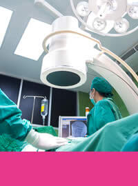 Vet operating theatre image